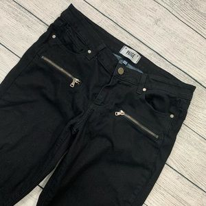 PAIGE . Zippered Front Pocket Pants . 28